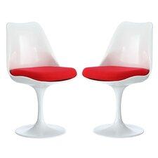 Julien Solid Back Dining Side Chair (Set of 2)
