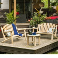 Hooper 3 Piece Bench Seating Group