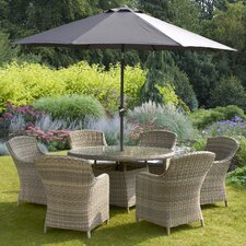 Wentworth Imperial 6 Seater Dining Set with Cushions