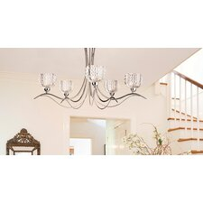 Calaver 5 Light Semi Flush Mount