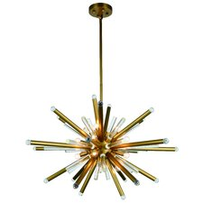 Maxwell 14-Light LED Sputnik Chandelier