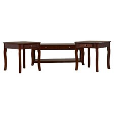 Bethel 3 Piece Coffee Table Set