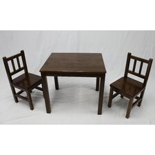 Rodney Kids 3 Piece Table and Chair Set