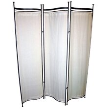 """68"""" x 58"""" Privacy Screen 3 Panel Room Divider"""