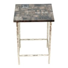 Lotus Ossified End Table by Peetal New York