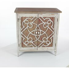 Mcgee Wood 2 Door Accent Cabinet by World Menagerie