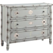 Chebeague 3 Drawer Accent Chest by Beachcrest Home