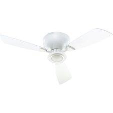 """44"""" Nikko 3-Blade Hugger Ceiling Fan"""