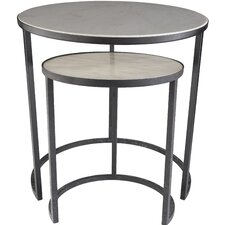 Hiram 2 Piece Nesting Tables by Latitude Run