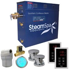Royal 10.5 kW QuickStart Steam Bath Generator Package with Built-in Auto Drain by Steam Spa
