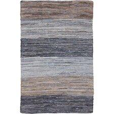 Audriana Mocha/Slate Striped Rug