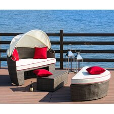 Lorren 3 Piece Daybed Set with Cushions