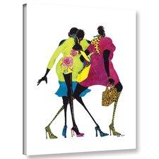 'Shop Til' You Drop' Graphic Art Print on Canvas
