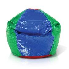 Double Zipper Bean Bag Chair