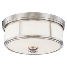 Athens 2-Light Flush Mount