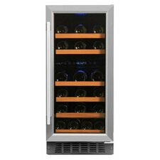 32 Bottle Dual Zone Convertible Wine Cooler