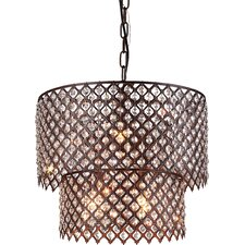 Rosaline 8-Light Drum Chandelier