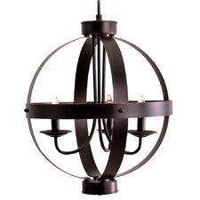 La Sarre 3-Light Candle-Style Chandelier