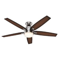 "54"" Corriveau 5 Blade Ceiling Fan with Remote"