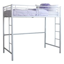 Charmaine Metal Twin Loft Bed