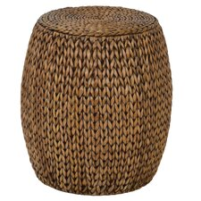 Dimitri Drum End Table by World Menagerie
