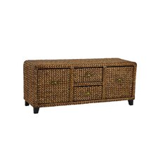 Dimitri Wood Storage Entryway Bench by World Menagerie