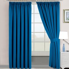 Pencil Pleat Blackout Thermal Panel Curtains