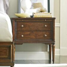 Hyde 2 Drawer Nightstand by Canora Grey