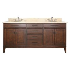 Chesterville 72 Double Bathroom Vanity Set by Red Barrel Studio