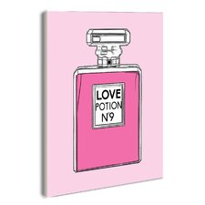 Love Potion No. 9 Perfume Bottle' Wall Plaque by House of Hampton