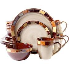 Martha 16 Piece Dinnerware Set, Service for 4