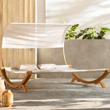 Miriam Double Chaise Lounge with Cushion