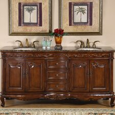 Haslett 72 Double Bathroom Vanity Set by Astoria Grand