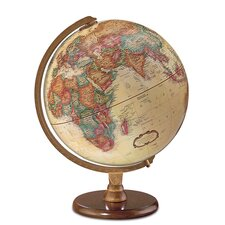 12 Antique French or English World Globe by Darby Home Co®