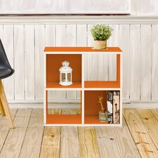 Andrade Quad 25Cube Unit Bookcase by Varick Gallery