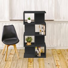 Andrade Eco 49 Accent Shelves Bookcase by Varick Gallery