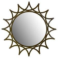 Star Metal Wall Mirror