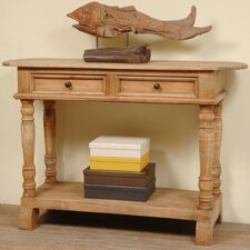 Polaris Cottage Console Table by Rosecliff Heights