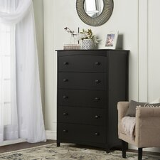 Freeport 5 Drawer Chest by Dream On Me