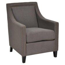 Deshi Armchair in Grey by Red Barrel Studio