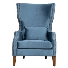 Sandy Wingback Chair by House of Hampton