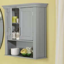 Kings Carriage 22.5 W x 24.5 H Wall Mounted Cabinet by Red Barrel Studio®