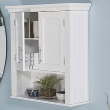 "Kings Carriage 22.5"" W x 24.5"" H Wall Mounted Cabinet"