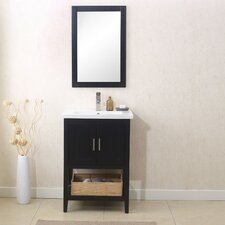 Annabel 24 Single Vanity Set with Mirror by Beachcrest Home