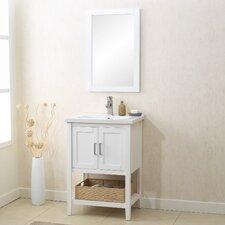 "Annabel 33"" Single Vanity Set with Mirror"