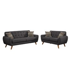 Wooten 2 Piece Sofa and Loveseat Set