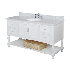 "Beverly 60"" Single Bathroom Vanity Set"