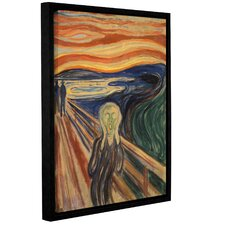 'The Scream'  Framed Painting Print On Canvas