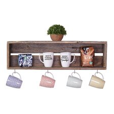Coffee Cup Accent Shelf by Loon Peak