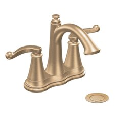 Savvy Two Lever Handle Centerset Bathroom Faucet